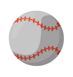 baseball ball sport game vector image