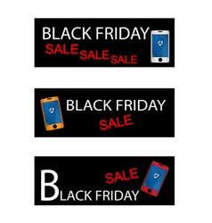 Black Friday Shopping Promotion with Smart Phone vector