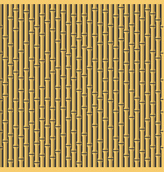 seamless bamboo background pattern on dark back vector image