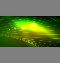 Shiny neon space background vector