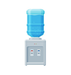 water cooler office or home equipment water vector image