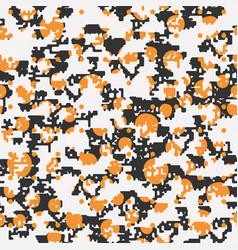 seamless pixel art elements of design vector image