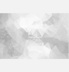 abstract light polygonal space background with vector image