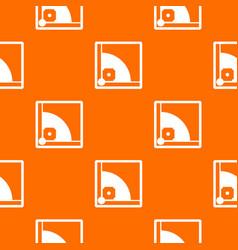 baseball field pattern seamless vector image