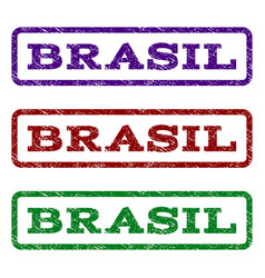 Brasil watermark stamp vector