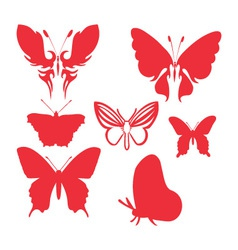 Butterfly 4 vector