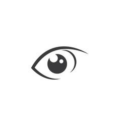 Eye care logo design vector