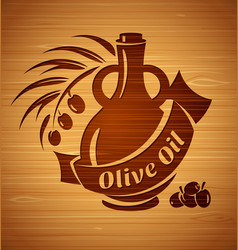 olive oil design templates for your design vector image