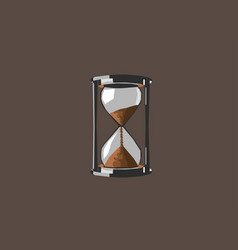 sand clock vector image