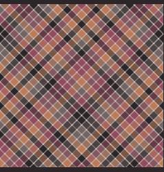 Red orange mosaic plaid seamless fabric texture vector