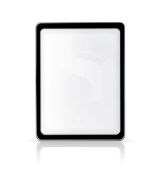 Touch screen vertical vector image vector image
