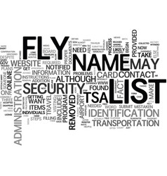 are you on no fly list what you can do text vector image