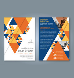 Cover annual report 1158 vector