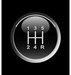 Gear stick vector