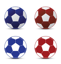 realistic a football world cup isolated vector image