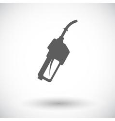 Refueling nozzle icon vector image