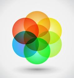 Geometric blossom vector image