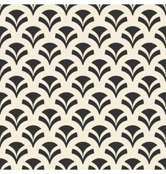 Repeating geometric seamless pattern vector image vector image