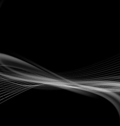 Dark smoke modern abstract background vector image vector image