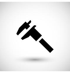 Modern caliper icon vector image vector image