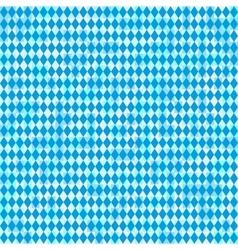 Seamless Oktoberfest and Bavarian flag pattern vector image