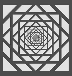 abstract of amaze gray and white pattern vector image