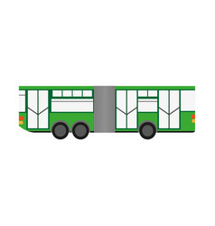 Articulated bus vehicle vector