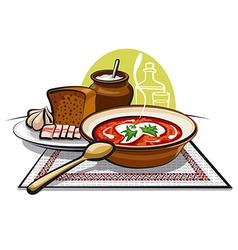 borscht vector image