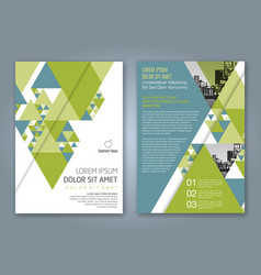 Cover annual report 1163 vector