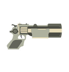 Gun futuristic weapon blaster game laser space vector