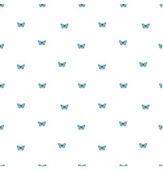 seamless background with little butterflies vector image
