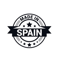 Spain stamp design vector