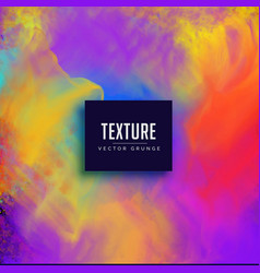 Watercolor vibrant texture background vector