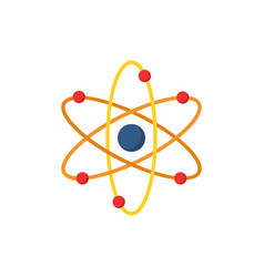 atom icon simple sign vector image