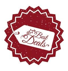 Best deal design vector image