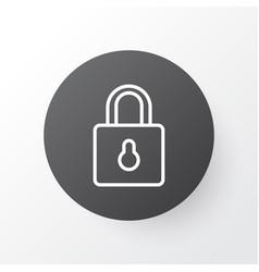 Close padlock icon symbol premium quality vector