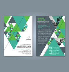 Cover annual report 1168 vector