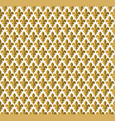 fleur de lis sign seamless pattern vector image