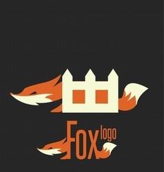 fox logo 6 vector image