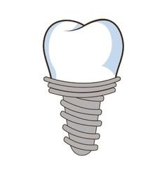 Medical dental care theme design vector image vector image