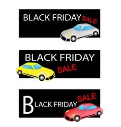 Mobile Computer on Black Friday Sale Background vector