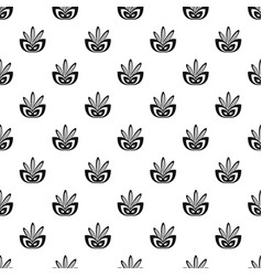 rio festive mask pattern seamless vector image