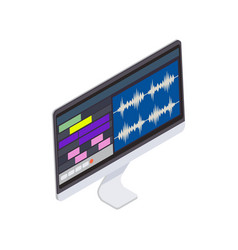 Sound producer computer vector