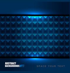 geometric blue backgrounds design vector image vector image