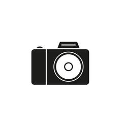 camera photo icon black vector image