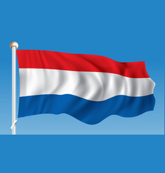 flag of netherlands vector image