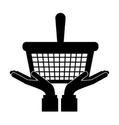 Go shopping concept vector image