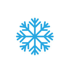 snowflakes style design for labels badges vector image