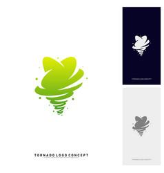 stars twist logo design concept storm stars logo vector image