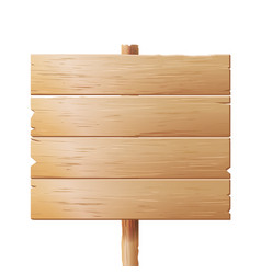 wooden signboards wood sign board isolated vector image